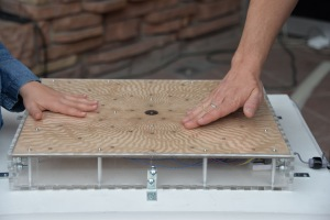 Solarophone - Interactive, electro-mechanical sound sculpture